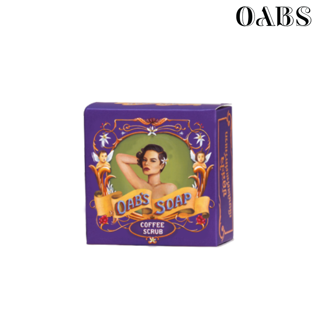 Oab's Coffee Scrub สบู่สครับกาแฟ โอปโซพ ขนาด 30 กรัม