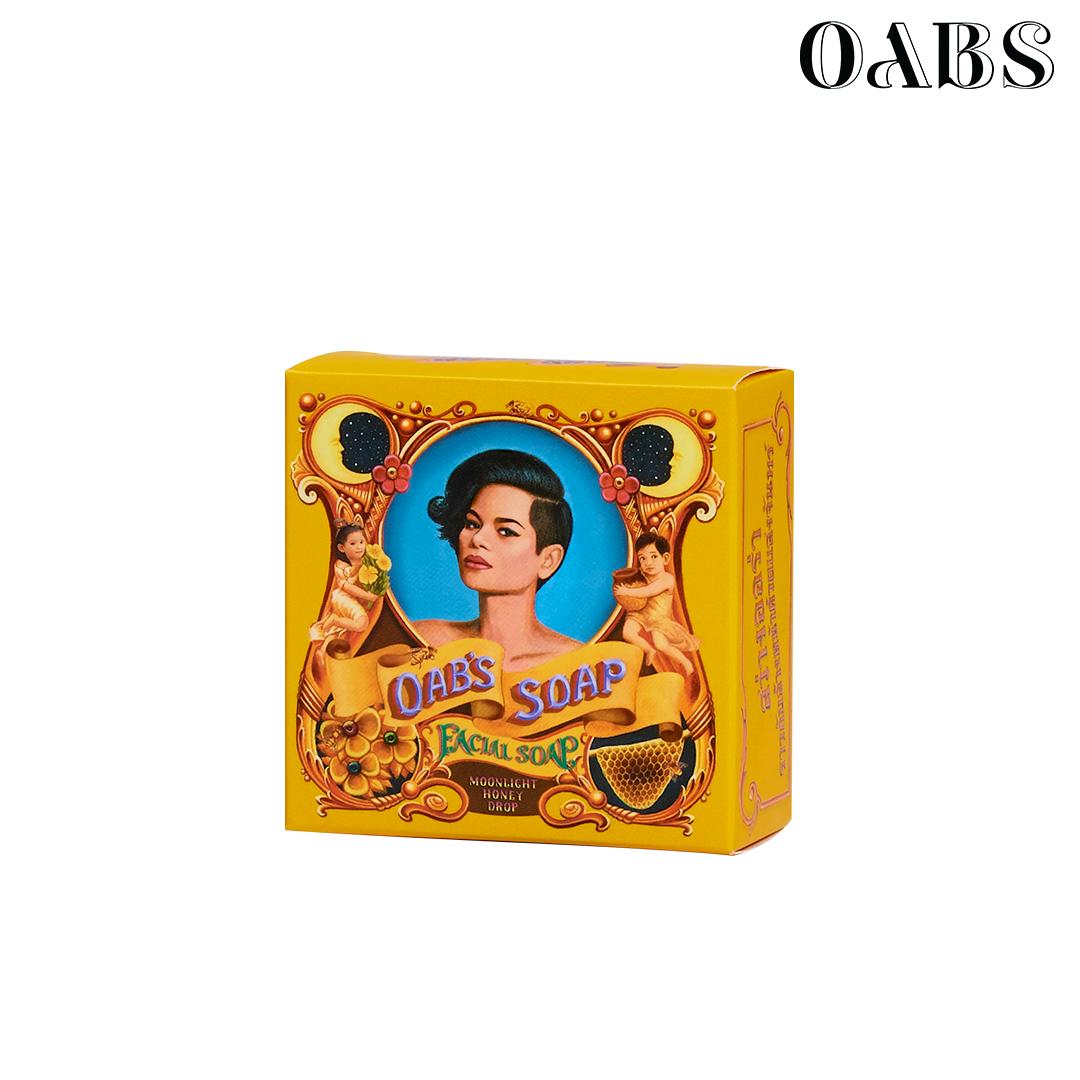 Oab's Moonlight Honey Drop สบู่ล้างหน้าน้ำผึ้ง โอปโซพ ขนาด 30 กรัม