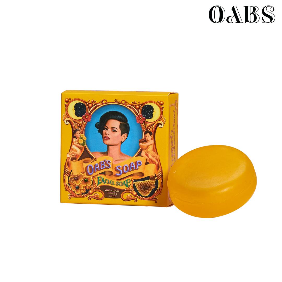 Oab's Moonlight Honey Drop สบู่ล้างหน้าน้ำผึ้ง โอปโซพ ขนาด 80 กรัม